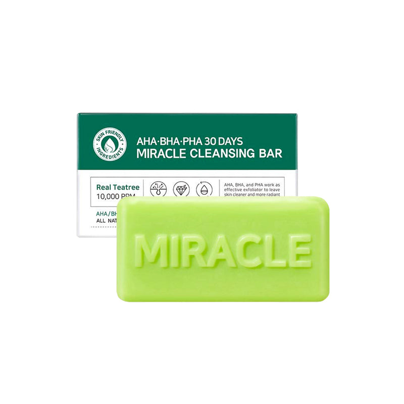 SOME BY MI Soap Miracle Cleansing Bar AHA BHA PHA