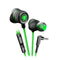 Plextone G15 Earphone with Microphone Version 3 Green