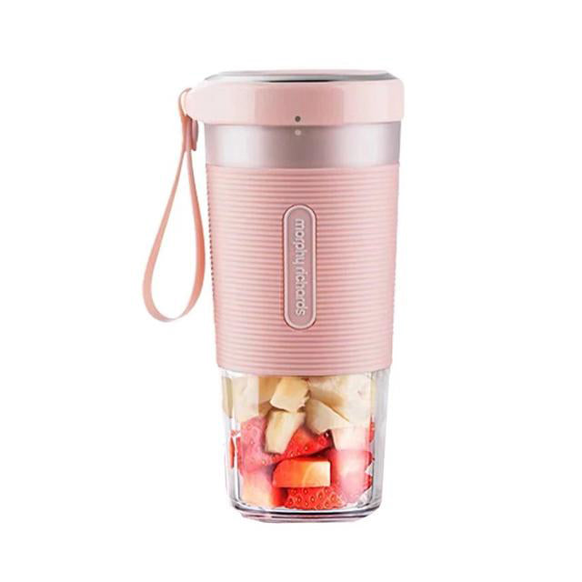Portable Juicer Morphy Richards Personal Tumbler Blender Pink