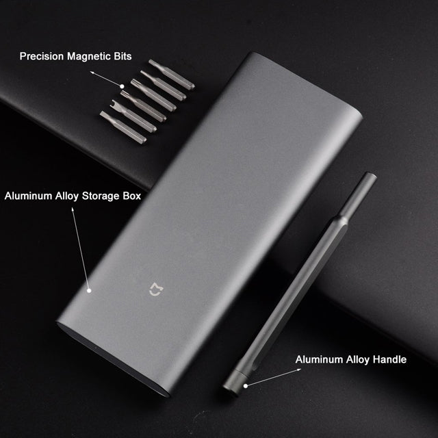 Xiaomi Wiha 24 in 1 Precision Screwdriver Kit Anti-Sweat and Corrosion Set with Aluminum Alloy Case