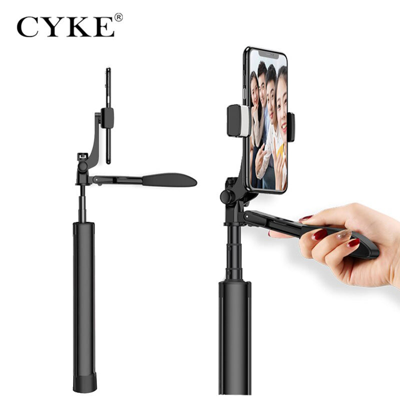 CYKE A21 Handheld Stabilizer Wireless Bluetooth V3.0 Built-in Remote Control with Beauty Fill Light