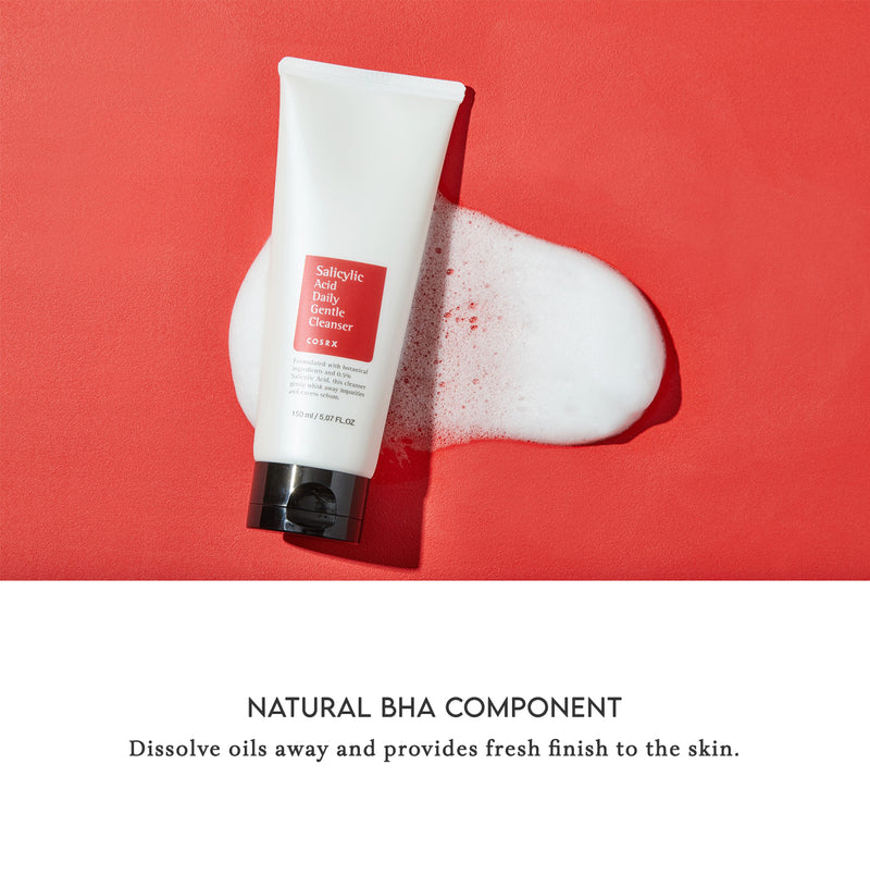 COSRX Salicylic Acid Daily Gentle Cleanser Natural BHA