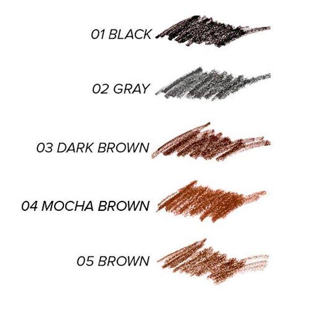 TONYMOLY Eyebrow Pencil Easy Touch Swatches