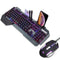Gadget Hunter 618 Wired Gaming Keyboard and Mouse Set with 16 Backlighting Effects