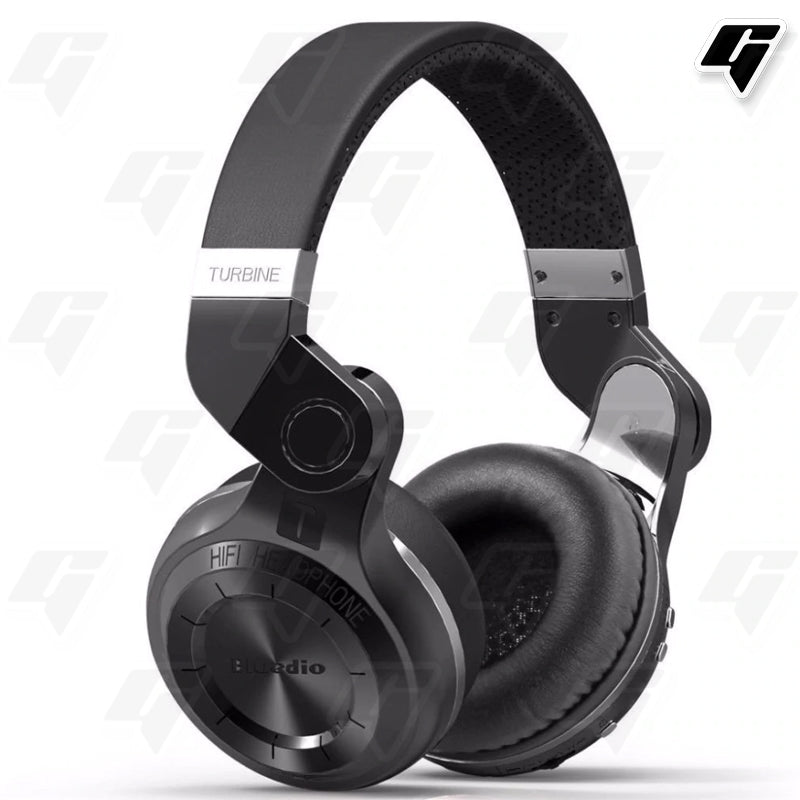 Bluedio Headphone T2 Plus Bluetooth Version 4.1 Black