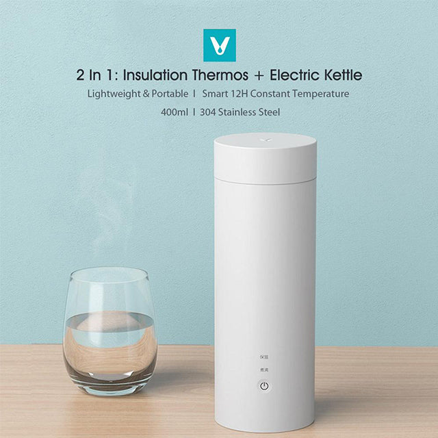 Xiaomi Kettle Viomi Dual Use Portable Electric Kettle 2 in 1