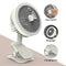USB Clip Fan Fast Cooling with LED Light W7 Functions