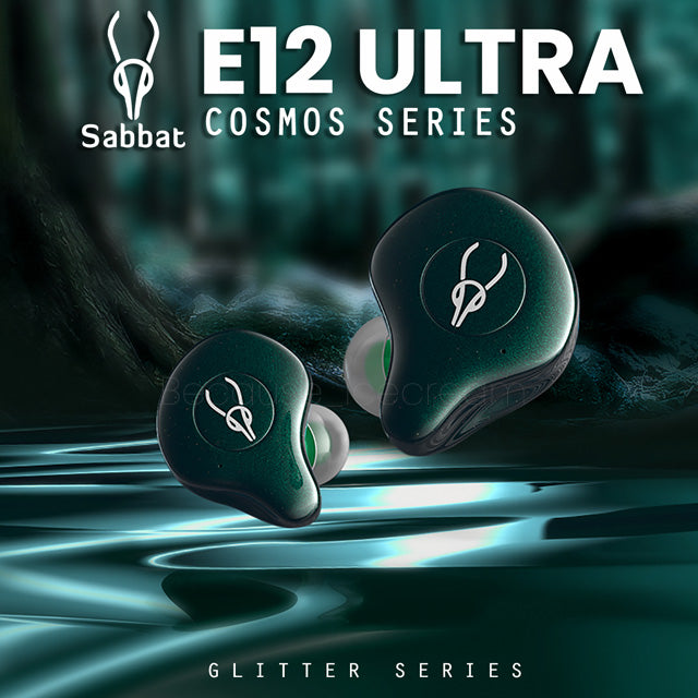 Sabbat E12 Ultra Cosmos Series Earphones Glitter Series