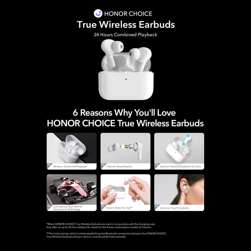 HONOR Earbuds True Wireless