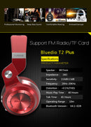 Bluedio Headphone T2 Plus Specs