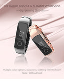 Mijobs Metal Strap for Honor Band 5 and 4
