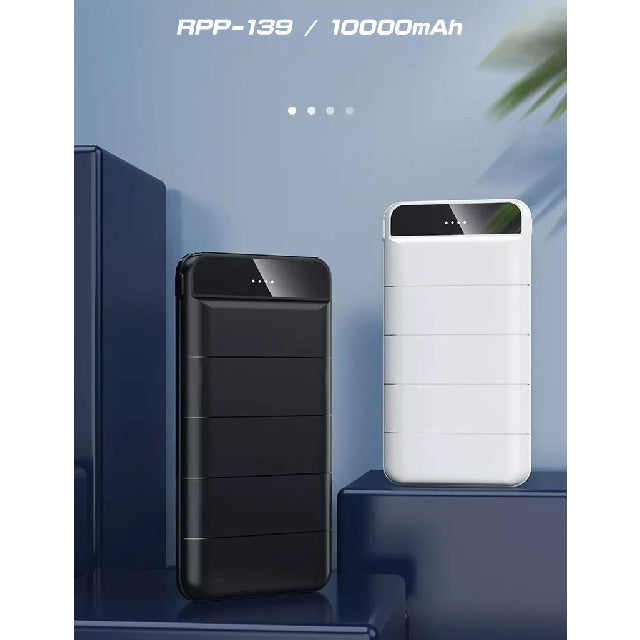 Remax Powerbank RPP-139 10000mAh with 2 USB Port Colors