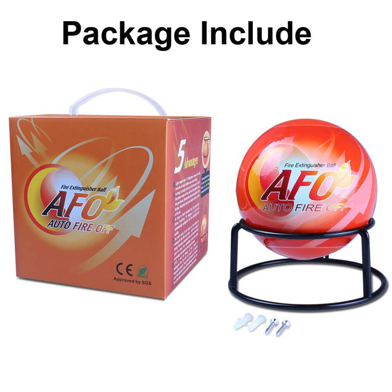 AFO Fire Extinguisher Ball 1.3KG Self-Activation Automatic Fire Sensor for All Types of Fire