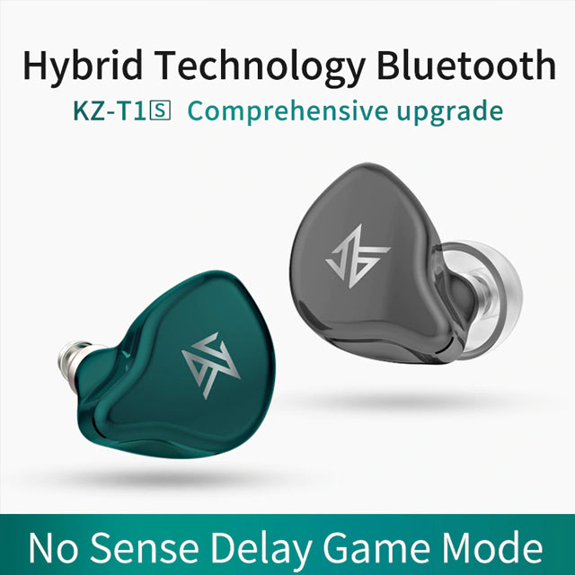 KZ S1D Dynamic Version Earphones TWS with Touch Control Bluetooth 5.0
