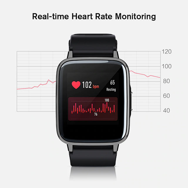 Haylou LS10 Smart Watch Real-Time Heart Rate Monitor