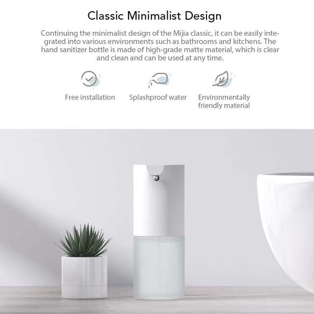 Automatic Soap Dispenser Xiaomi Mijia Minimalist Design
