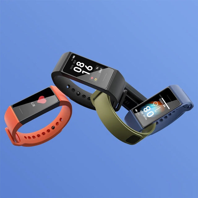 Xiaomi Redmi Band Smartwatch Heart Monitoring Colors
