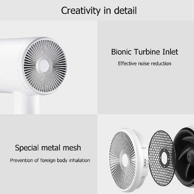 Xiaomi Portable Hair Dryer Mijia Zhibai Specs
