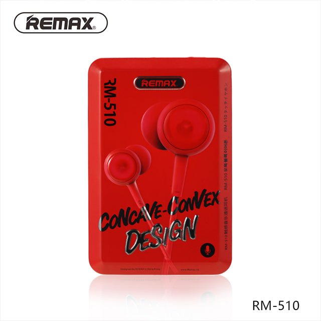 Remax RM-510 Wired Earphone Case