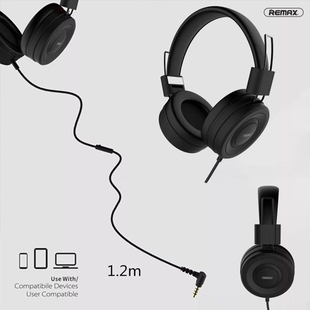 Remax Headset RM-805 Music Stereo 1.2m