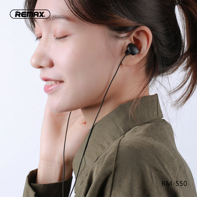 Remax Earphone RM-550 Wired Music in-Ear
