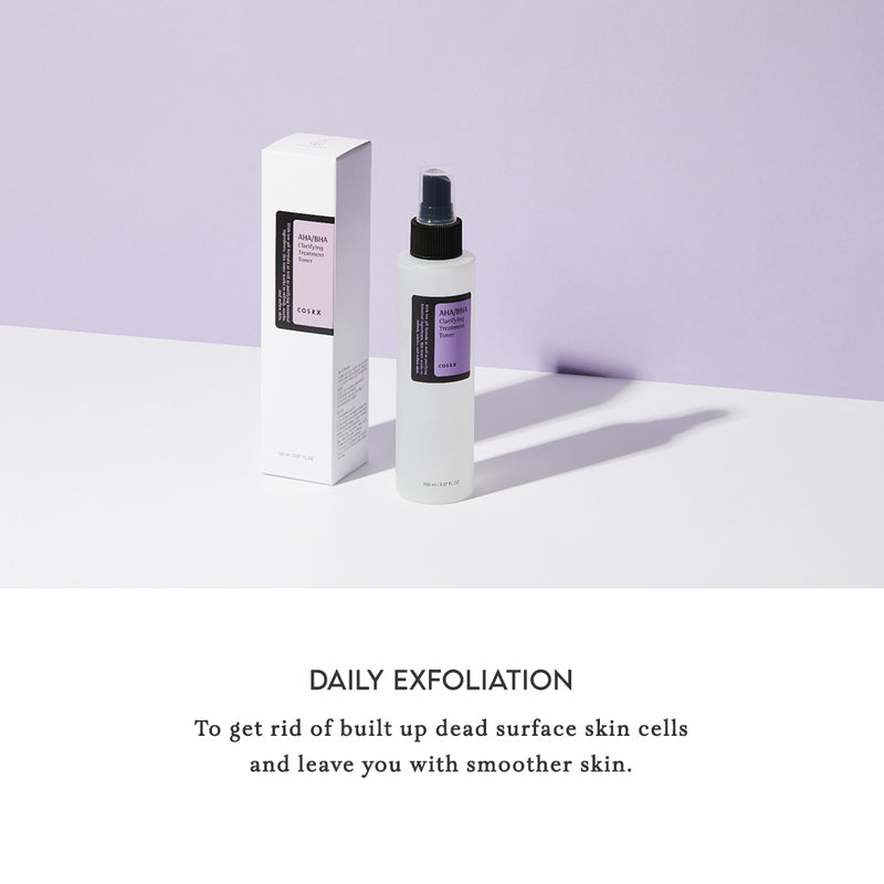 COSRX Toner AHA BHA Clarifying Treatment Daily Exfoliation
