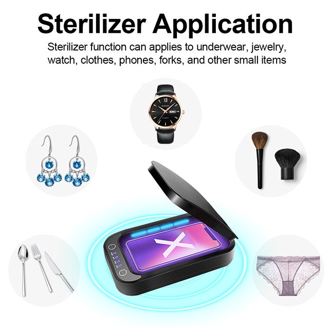 UV Sterilizer Multi-functional Version 2 for Phones Application