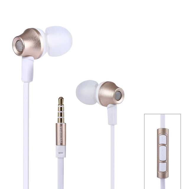 Remax Earphone RM-610D with Microphone