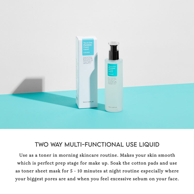 COSRX Poreless Power Liquid Two in One Multi-Functional