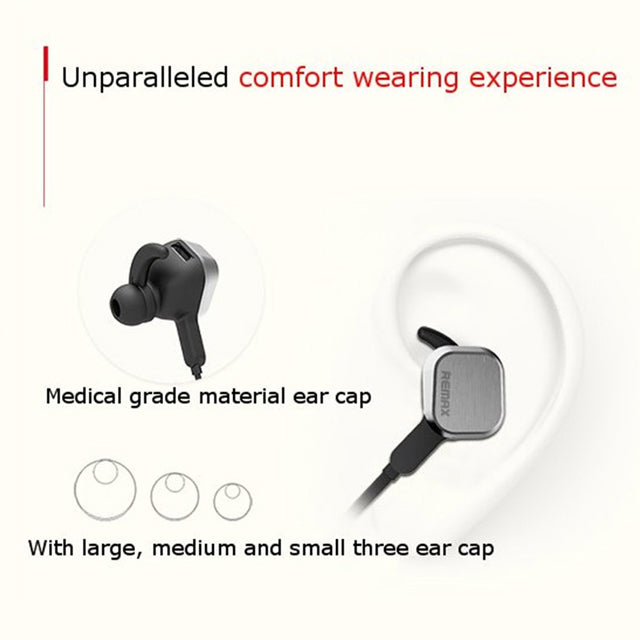 Remax RB-S2 4.1 Magnetic Sports Bluetooth Earphone Comfortable