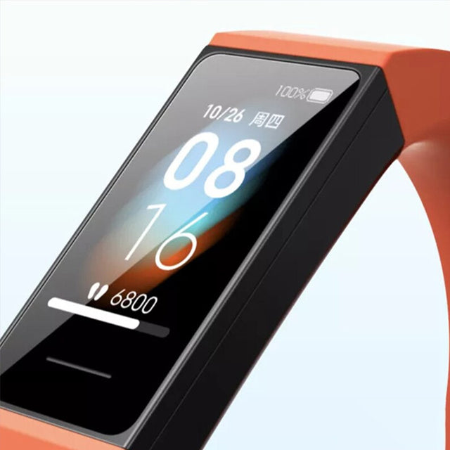 Xiaomi Redmi Band Smartwatch Heart Monitoring Upclose