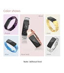 Mijobs Metal Strap for Honor Band 5 and 4 NFC Colors