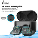 Sabbat E12 Ultra Marble Series TWS Earphone with Free Case Battery life