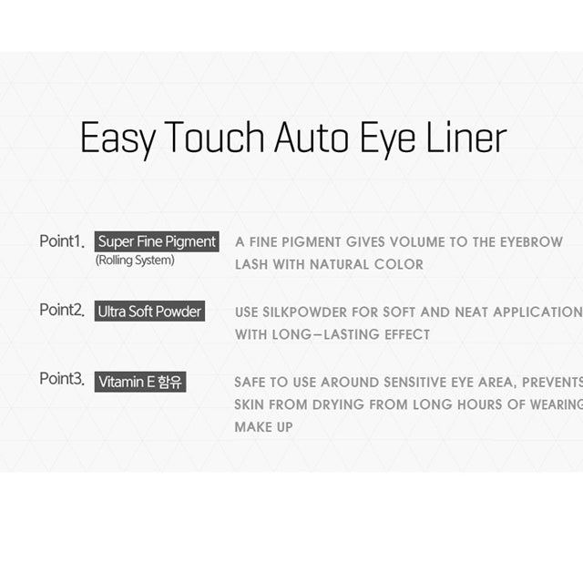 TONYMOLY Eyebrow Pencil Easy Touch Points