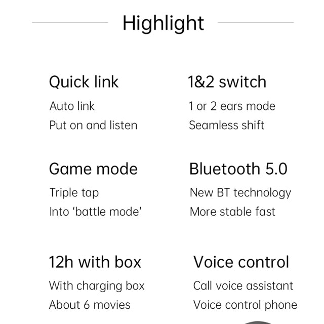 Xiaomi Redmi AirDots S V5.0 Highlight
