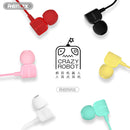 Remax Earphone RM-502 Crazy Robot