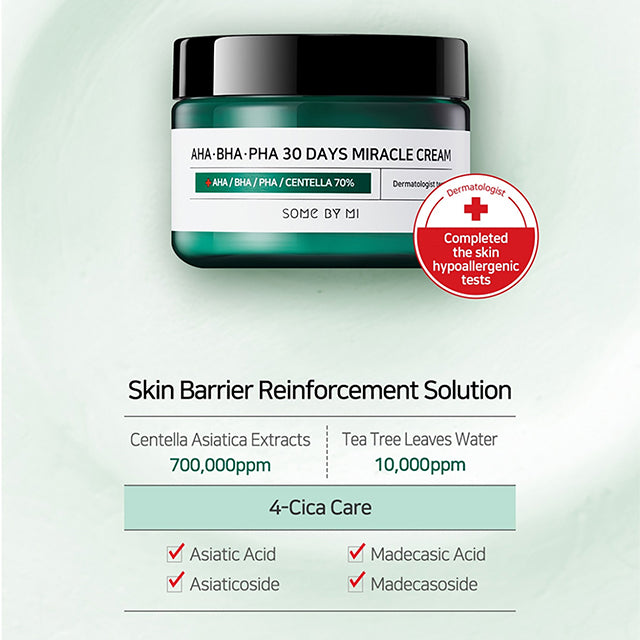 SOME BY MI Miracle Cream 30 Days 4 Cica Care