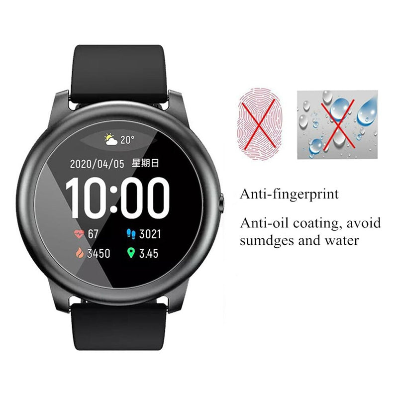 Haylou Solar LS05 Smartwatch Tempered Glass Screen Protector (1pc)