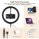 Ring light Portable USB Safe