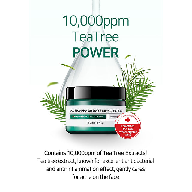 SOME BY MI Miracle Cream 30 Days Tea Tree Power