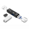 Card Reader OTG 5 in 1 Adapter Type C Micro USB 2.0