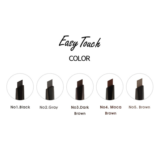 TONYMOLY Eyebrow Pencil Easy Touch Shades