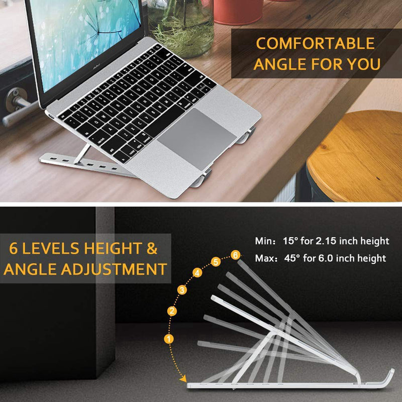 MC Portable Laptop Stand Adjustable Computer Holder N3