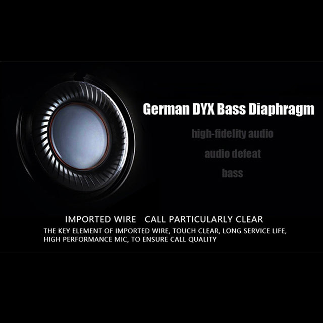 DM7 QKZ Earphone German DYS Bass Diaphragm