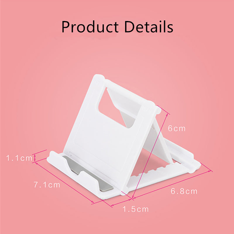 Phone Holder Stand Mini Adjustable and Foldable Details