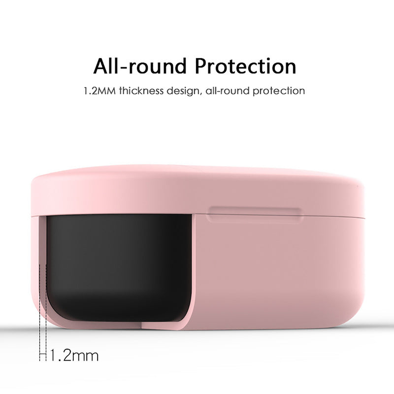 Silicone Cover Case for Xiaomi Redmi Airdots and Airdots S  All Around Protection