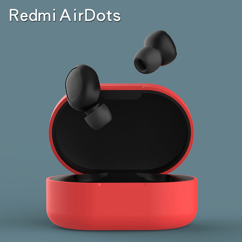 Silicone Cover Case for Xiaomi Redmi Airdots, Airdots S and Airdots 2