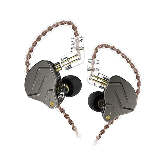 KZ Earphone ZSN Pro Metal 1BA+1DD with Microphone
