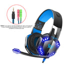 KOTION EACH G2000 Headset High Audio Quality Blue