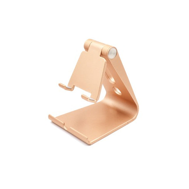Phone Holder Stand for Mobile Phone Tablet iPad Gold
